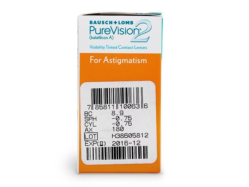 PureVision 2 for Astigmatism (6 lenzen)