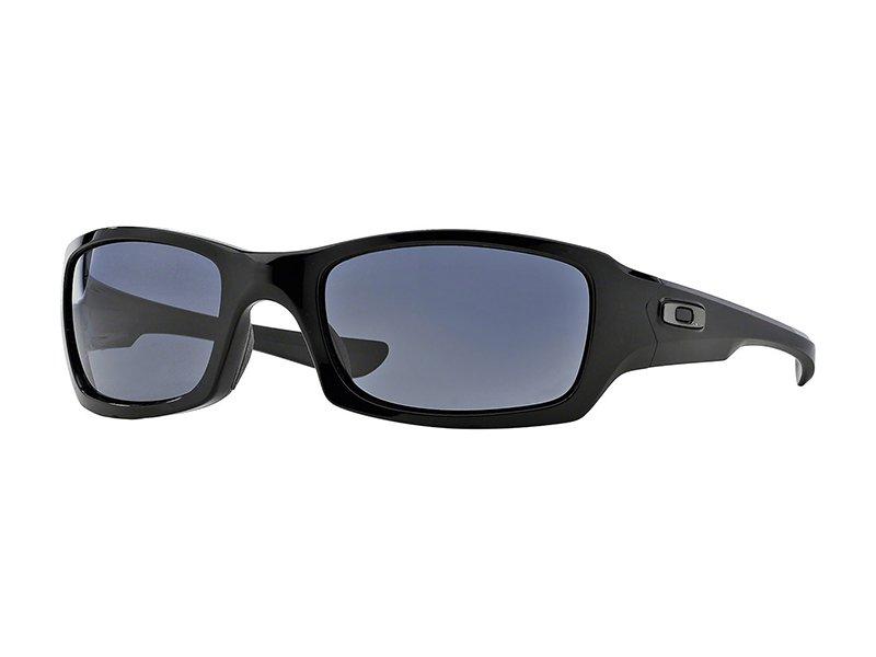 Oakley Fives Squared Zonnebril Polished Black-Grey