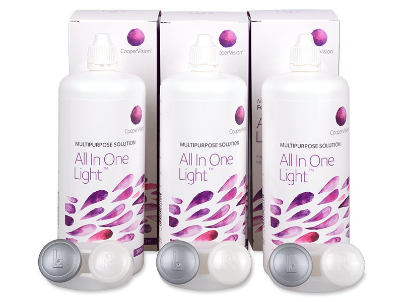 Lenzenvloeistof All In One Light 3 x 360 ml