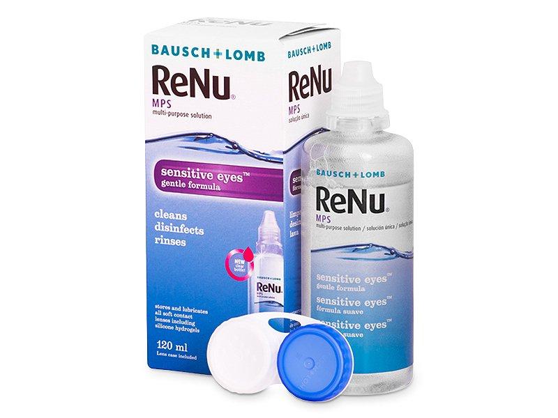 ReNu MPS Sensitive Eyes oplossing 120 ml