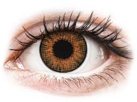 Alensa.nl - Contactlenzen - Bruine Honey contactlenzen - met sterkte - Air Optix Colors