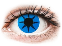 Alensa.nl - Contactlenzen - Blauwe Blue Star contactlenzen - ColourVue Crazy