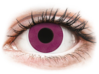 Alensa.nl - Contactlenzen - Paarse Purple contactlenzen - ColourVue Crazy