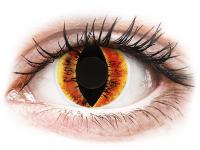Alensa.nl - Contactlenzen - Oranje Saurons Eye contactlenzen - ColourVue Crazy