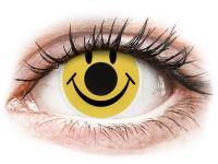 Alensa.nl - Contactlenzen - Gele Smiley contactlenzen - ColourVue Crazy