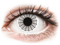 Alensa.nl - Contactlenzen - Zwart en Witte Spider contactlenzen - ColourVue Crazy