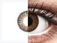 Bruine contactlenzen - met sterkte - TopVue Color (10gekleurde daglenzen)