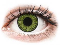 Groene Fresh Green contactlenzen - met sterkte - TopVue Color (10 gekleurde daglenzen)