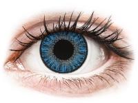 Alensa.nl - Contactlenzen - Blauwe Sapphire Blue contactlenzen - met sterkte - TopVue Color