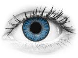 Blauwe Sapphire Blue contactlenzen - TopVue Color (10 gekleurde daglenzen)