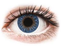 Alensa.nl - Contactlenzen - Blauwe True Sapphire contactlenzen - met sterkte - TopVue Color