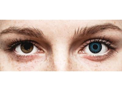 Blauwe contactlenzen - met sterkte - ColourVUE Eyelush (2kleurlenzen)