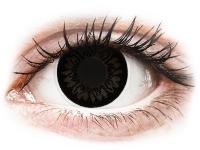 Alensa.nl - Contactlenzen - Zwarte Dolly Black contactlenzen - met sterkte - ColourVUE BigEyes