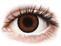 Alensa.nl - Contactlenzen - Bruine Pretty Hazel contactlenzen - met sterkte - ColourVUE BigEyes