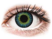 Alensa.nl - Contactlenzen - Geel en Blauwe contactlenzen - met sterkte - ColourVUE Fusion