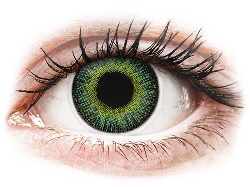 groen&gele colorvue fusion op sterkte (2 lenzen) | alensa nederland