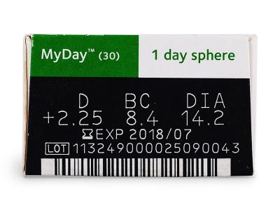 MyDay daily disposable (30lenzen)