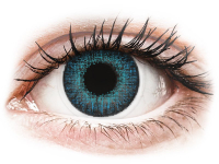 Alensa.nl - Contactlenzen - Blauwe Brilliant Blue contactlenzen - met sterkte - Air Optix Colors