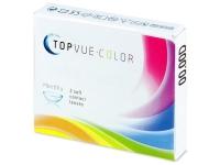 Bruine Honey contactlenzen - TopVue Color (2kleurlenzen)