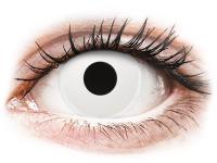 Witte WhiteOut contactlenzen - ColourVue Crazy (2 gekleurde daglenzen)