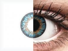 ColourVue One Day TruBlends Blue - met sterkte (10 lenzen)