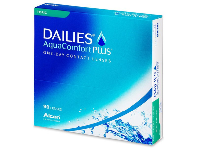 Dailies AquaComfort Plus Toric (90 lenzen)