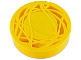 Alensa.nl - Contactlenzen - Lenzenhouder kit met spiegel - geel versierd