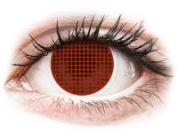 Alensa.nl - Contactlenzen - Rode Red Screen contactlenzen - ColourVue Crazy