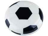 Alensa.nl - Contactlenzen - Lenzenhouder kit met spiegel Voetbal - zwart