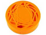 Alensa.nl - Contactlenzen - Lenzenhouder kit met spiegel - oranje versierd