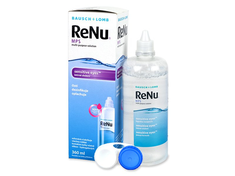 ReNu MPS Sensitive Eyes oplossing 360 ml