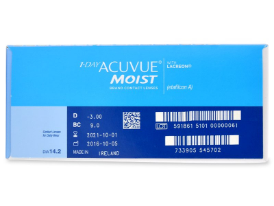 1 Day Acuvue Moist (180 lenzen)