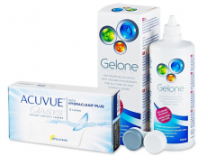 Acuvue Oasys (12 lenzen) + Gelone 360 ml