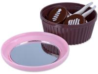 Alensa.nl - Contactlenzen - Lenzen Kit met spiegel - roze Muffin