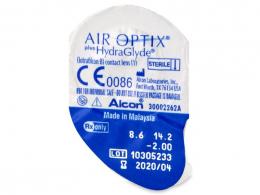 Air Optix plus HydraGlyde (6 lenzen)