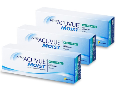 1 Day Acuvue Moist Multifocal (90 lenzen)