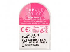 TopVue Color Daily - zonder sterkte (10 lenzen)