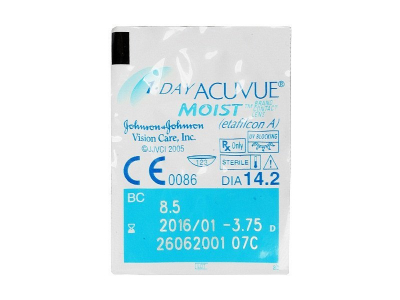 1 Day Acuvue Moist (30 lenzen)
