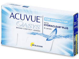 Acuvue Oasys for Astigmatism (6 lenzen) - Johnson & Johnson