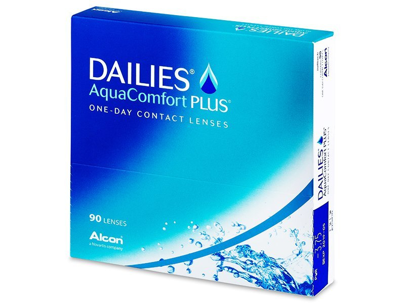 Dailies Aquacomfort Plus (90 lenzen)