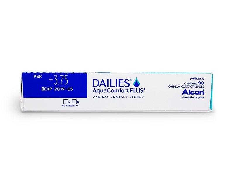 Dailies Aquacomfort Plus (90lenzen)