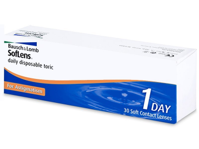 SofLens Daily Disposable Toric Contactlenzen (30 lenzen)