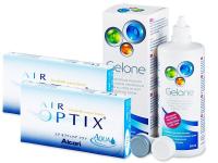 Air Optix Aqua (2x3 lenzen) + Gelone 360 ml